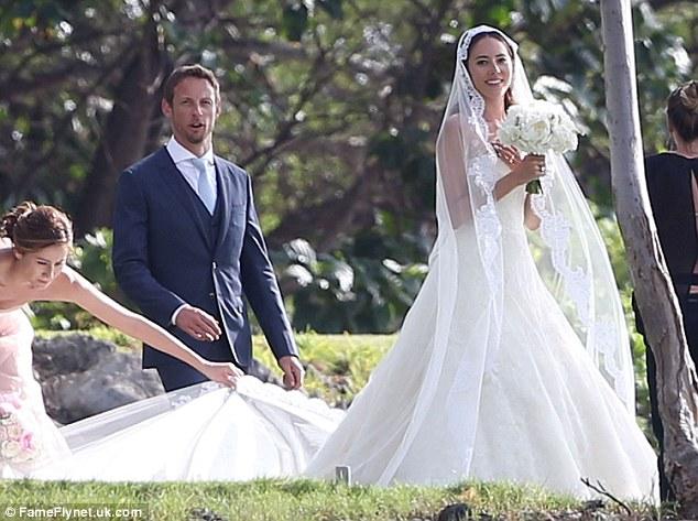 道端ジェシカがジェンソン・バトンと結婚!モナコで略奪愛