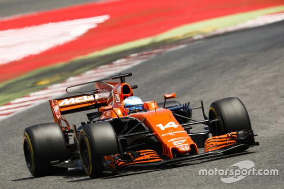 フェルナンド・アロンソ(マクラーレン・ホンダ)2017年F1スペインGP