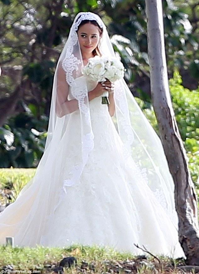 結婚式での道端ジェシカ