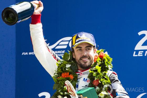 フェルナンド・アロンソ優勝、WECル・マン24時間レース