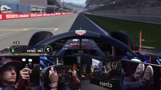 マックス・フェルスタッペンのバーチャルラップ:F1オーストリアGP