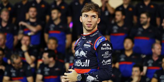 ピエール・ガスリー(トロ・ロッソ・ホンダ)2019年F1アブダビGP