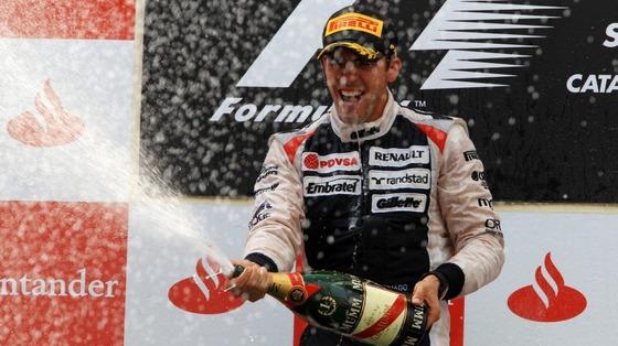 パストール・マルドナド(ウィリアムズ) 優勝!2012年スペインGP