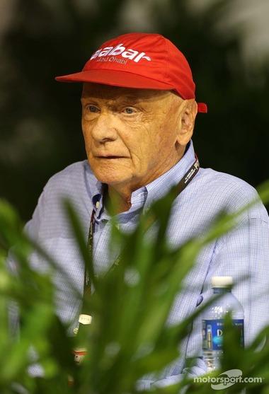 ニキ・ラウダ、2013年シンガポールGP