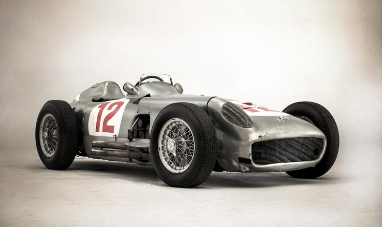 ファンジオの1954年メルセデスW1...