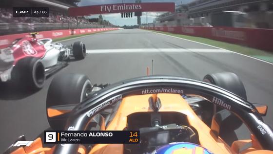 アロンソ、ルクレールをオーバーテイク:2018年F1スペインGP