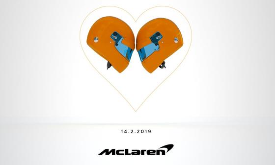 マクラーレンは2019年F1マシンを2月14日に発表する