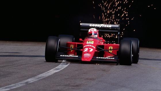 ナイジェル・マンセル(フェラーリ)、1989年F1モナコGP