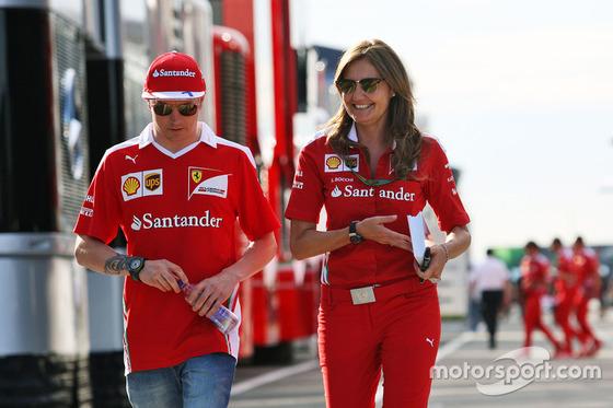 キミ・ライコネン(フェラーリ): F1ハンガリーGP