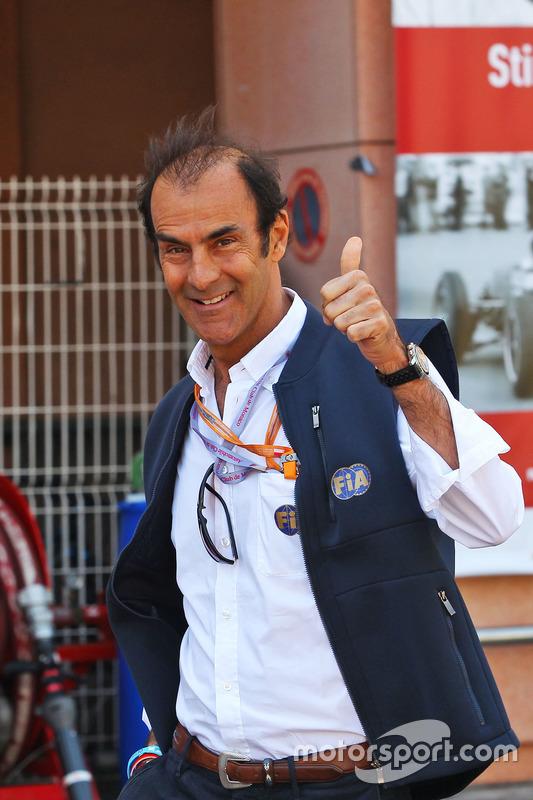 エマニュエル・ピロ、F1モナコGPのレース・スチュワードに : F1通信