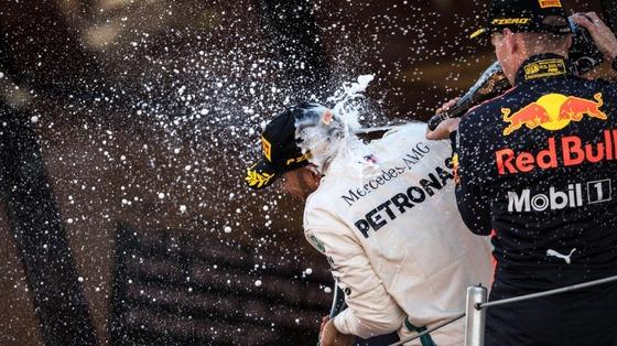 ルイス・ハミルトン、マックス・フェルスタッペン:2018年F1スペインGP