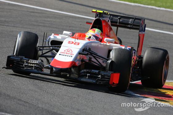 ロベルト・メルヒ(マナー・マルシア)、2015年F1ベルギーGP