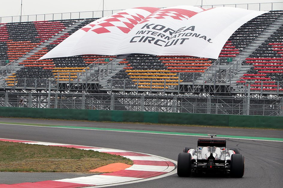 ジェンソン・バトン(マクラーレン)、2011年F1韓国GP