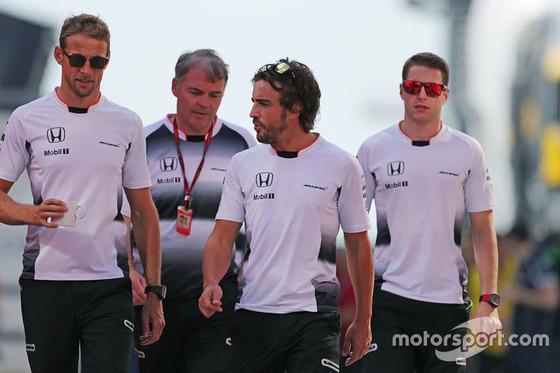 ジェンソン・バトンとフェルナンド・アロンソ(マクラーレン・ホンダ): F1ハンガリーGP
