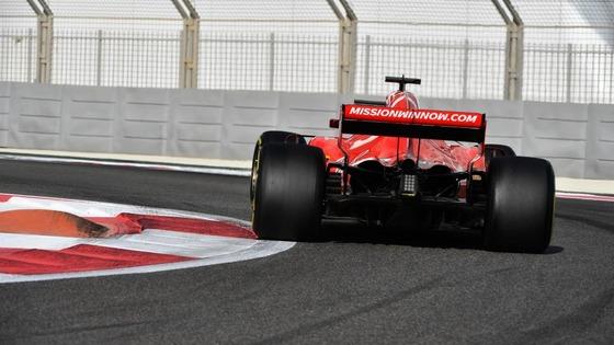 フェラーリF1マシン