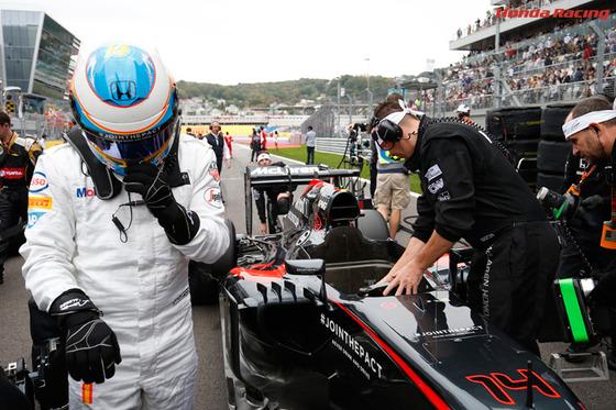 フェルナンド・アロンソ(マクラーレン・ホンダ) F1ロシアGP ソチ