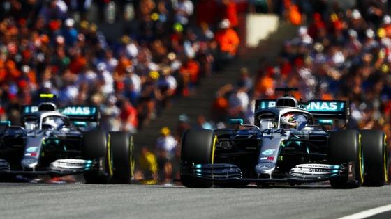 メルセデスの2台:2019年F1オーストリアGP