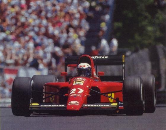 アラン・プロスト(フェラーリ)、1991年