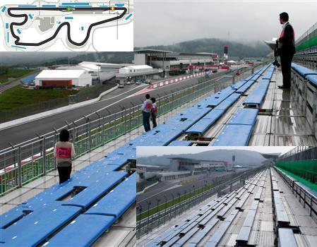 富士スピードウェイ、改修された「レースが見えない観客席」C席