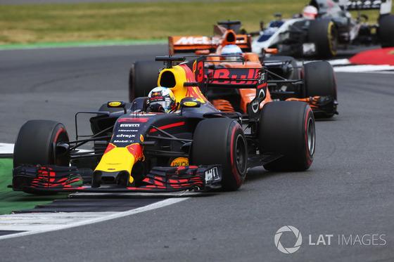 ダニエル・リチャルド(レッドブル)2017年F1イギリスGP