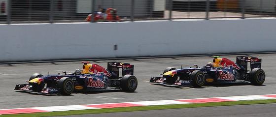 セバスチャン・ベッテル、マーク・ウェバー、2011年F1イギリスGP