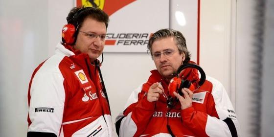 ニコラス・トムバジズ、パット・フライ、フェラーリF1チーム