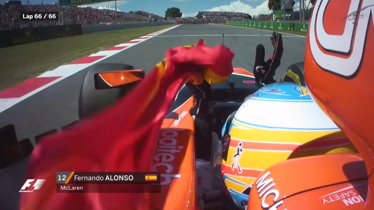 F1スペインGP動画:車載カメラの...