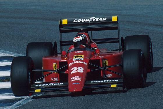 ゲルハルト・ベルガー(フェラーリ640)、1989年