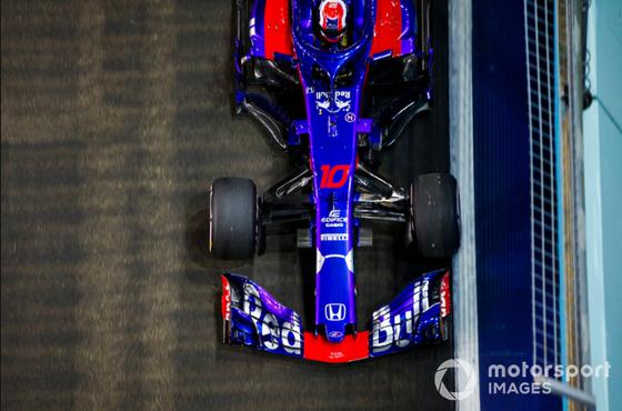 ピエール・ガスリー(トロ・ロッソ・ホンダ)2018年F1シンガポールGP