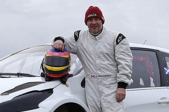 ジャック・ヴィルヌーヴ、FIA世界ラリークロス選手権に参戦