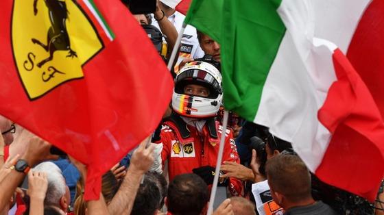 セバスチャン・ベッテル(フェラーリ)優勝:2018年F1カナダGP