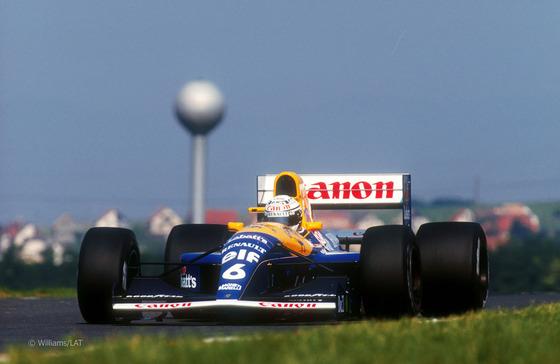リカルド・パトレーゼ(ウィリアムズFW14)、1991年