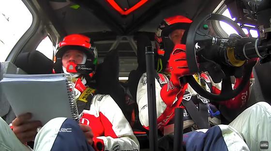 クリス・ミーク /ポール・ネーグル(シトロエン)WRCラリー・メキシコ2017年