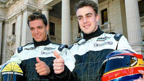 タルソ・マルケスとフェルナンド・アロンソ、2001年ミナルディF1チーム