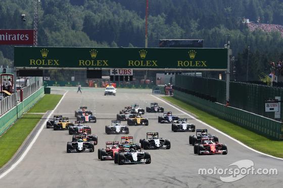 2016年F1ベルギーGPスタート