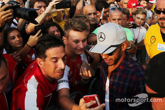ルイス・ハミルトン(メルセデス): F1イタリアGP