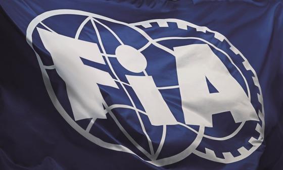 FIA旗、FIAロゴ、FIA flag, FIA logo