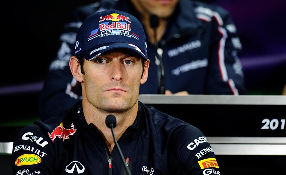 マーク・ウェバー、2012年F1韓国 ...