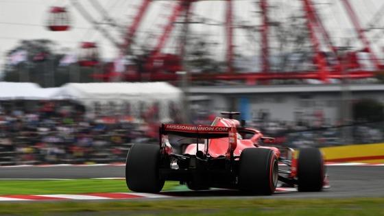 セバスチャン・ベッテル(フェラーリ)2018年F1日本GP