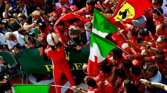 セバスチャン・ベッテル(フェラーリ)2018年F1イギリスGP