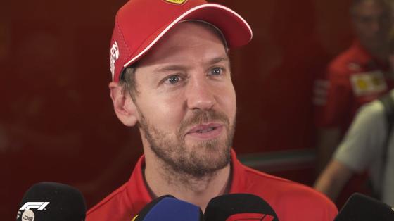 セバスチャン・ベッテル(フェラーリ)2019年F1アブダビGP