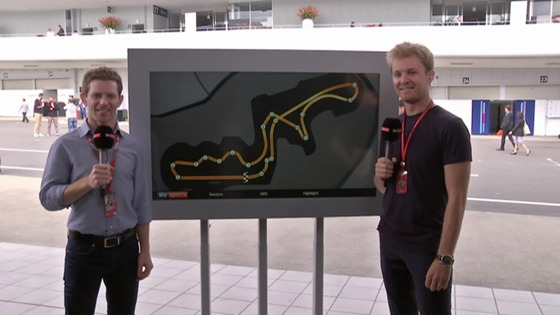 ニコ・ロズベルグ、鈴鹿でスカイのF1解説者に:2017年F1日本GP