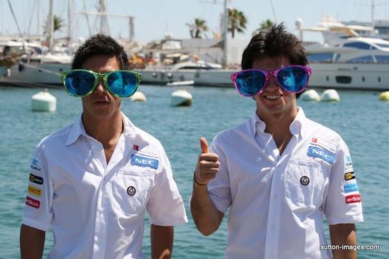 小林可夢偉、セルジオ・ペレス、2012年F1ヨーロッパGP