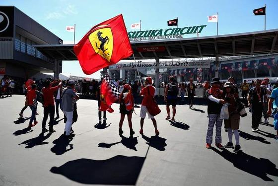 鈴鹿のフェラーリ・ファン:2018年F1日本GP