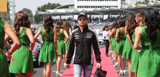 セルジオ・ペレス(フォース・インディア)、2016年F1