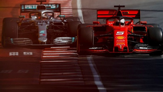 ベッテルとハミルトン、ニアミス:2019年F1カナダGP