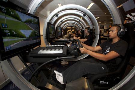 gaming simulators grand casino