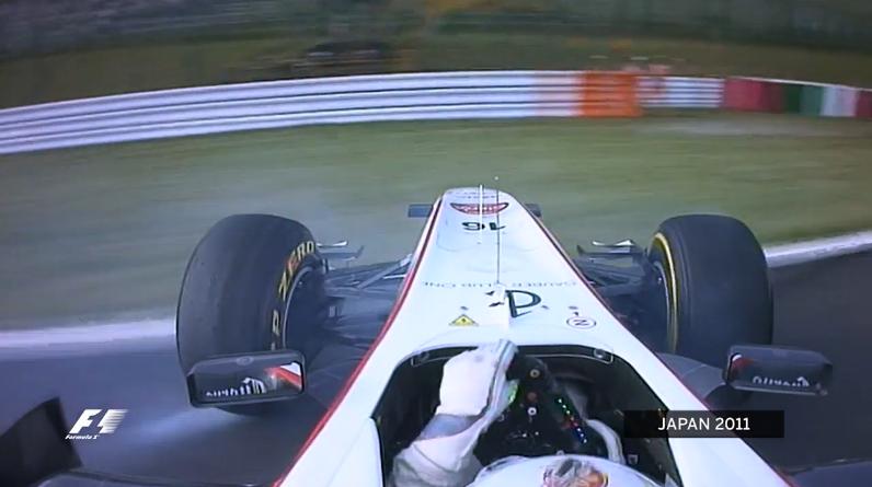 小林可夢偉の「世紀の命拾い」: 鈴鹿130R F1日本GP : F1通信