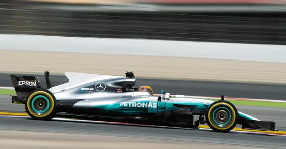 ルイス・ハミルトン(メルセデス)バルセロナF1テスト2017年3月