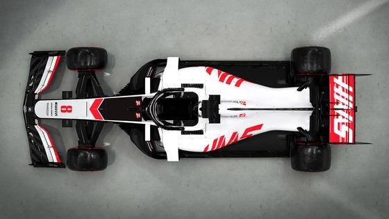 ハースVF-20:2020年F1マシン